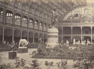 1865 Evrensel Sergisindeki Döğüşen Boğa Heykeli