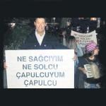 Gezi'de çapulcu borsada kral