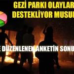 Gezi Parkı Eylemleri Bitsin!