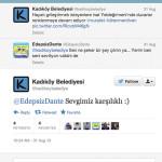 Kadıköy Belediyesi: Sevgimiz karşılıklı