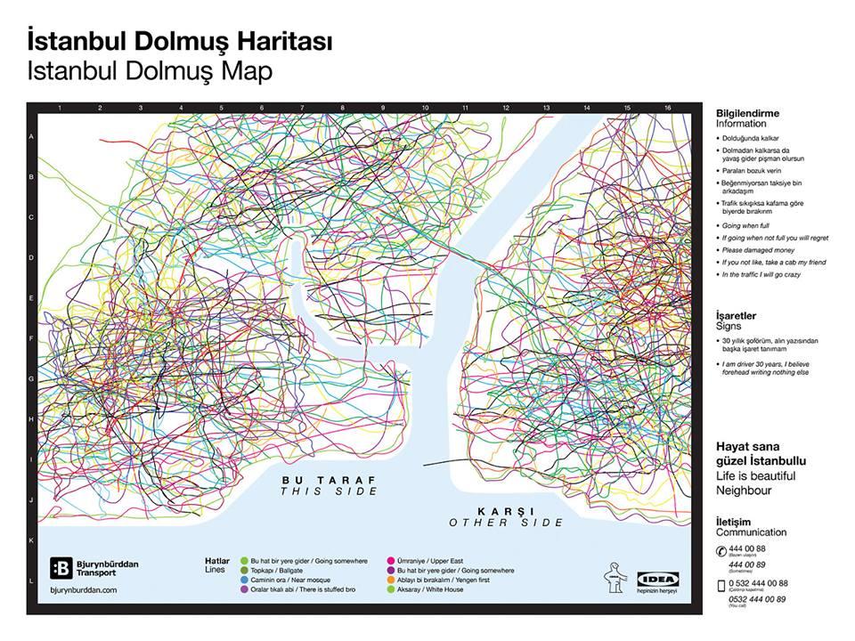 dolmus haritasi