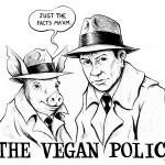 """""""Vegan Ol, Boğayı Koru"""" yürüyüşü"""