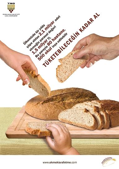 ekmek israfi