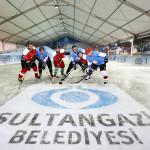 Sultangazi'den çevreye dost eğlenceye ev sahibi buz pisti