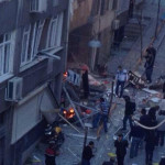 Taksim'de patlama!