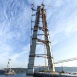 3. köprünün halatları hazır