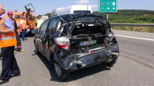 TEM'deki kaza trafigi kilitledi